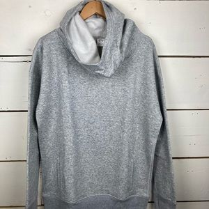 Zyia oh so soft heathered gray hoodie XL